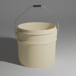 Cubeta.png Download OBJ file Pail • 3D print template, MagsDevelopers