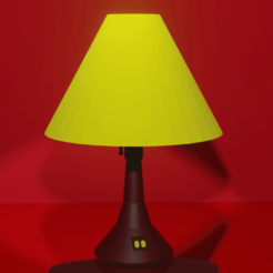 Lampara.png Download STL file Lamp • Template to 3D print, MagsDevelopers