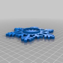 Download free STL file Snowflake Tea Candle Holder • 3D print design, TresaRyGoul