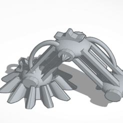 Download 3D model Mechanical legs, mrfrost54
