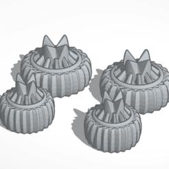 Download free STL file 18 and 15 mm wheels • 3D printable design, mrfrost54