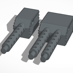 Download free STL file Machine gun • 3D print object, mrfrost54