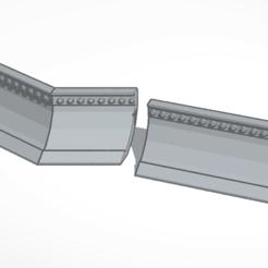 Download STL file Bulldozer blade (ram) • 3D printer object, mrfrost54