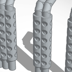 Download free STL file exhausts • 3D print design, mrfrost54