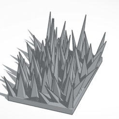 Download free STL file Plate of thorns • Design to 3D print, mrfrost54