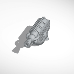 Download STL file flamethrower • 3D printer object, mrfrost54