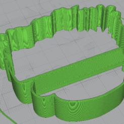 Download free 3D printing models Frida Kahlo cookie cutter, cotoblackcesar