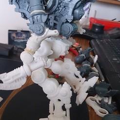 Descargar modelos 3D gratis Knight Titan Poseable Legs & CCW, Stroganoff