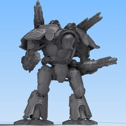 Download free STL Epic Scale Mars Warlord Titan, Stroganoff