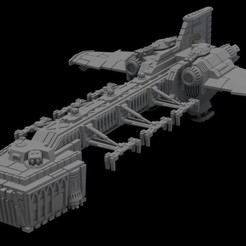 Download free 3D printing templates Epic Scale Landing Craft, Stroganoff