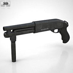 Descargar archivo STL rifle de tamaño real • Diseño para la impresora 3D, maxmadi31
