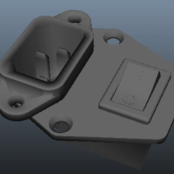 "Download free 3D printing designs Plug ""C14"" Adapter, Zenmorn"