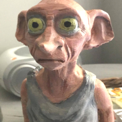 Download free 3D printing designs DOBBY - Harry Potter, ggross