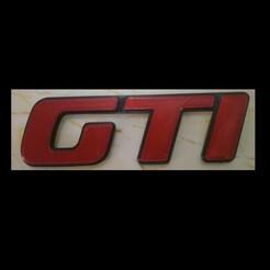 IMG_20201225_124229.jpg Télécharger fichier STL GTI Golf Sigle • Modèle pour impression 3D, Salfa