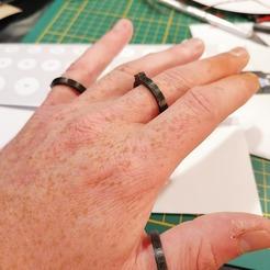 98011353_867193797090340_6648218596608573440_n.jpg Télécharger fichier STL gratuit Baguier officie. Si tu veux m'épouser, ma taille c'est 63!!! • Design pour impression 3D, Kent_Ra_