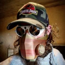Descargar diseños 3D gratis trituradora de máscaras covid 19, Kent_Ra_