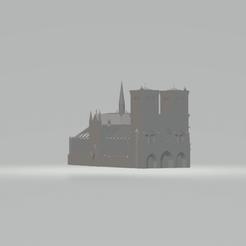Télécharger fichier impression 3D gratuit notre dame de paris, mickatuaillon