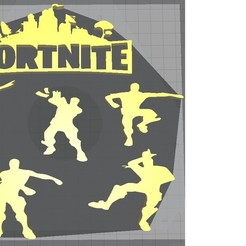 Download free STL file fortnite • 3D print object, damien198458