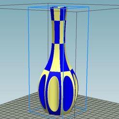 Download free STL files Dandelion Vase Dual Color remix, 3dimka