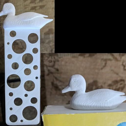 Télécharger STL gratuit Signet de canard - Duck Bookmark, 3dimka