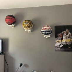 Download 3D printer designs Basketball basketball support, labrotolivier