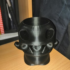 Télécharger fichier 3D gratuit Pot à crayon monstre, carobaire