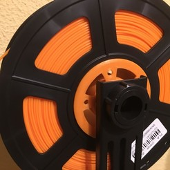 Download free 3D printing designs Supplement for filament spool, fjcajavier