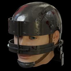 0.jpg Télécharger fichier STL Le casque de l'animé Berserk • Objet imprimable en 3D, Necrosster
