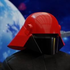 untitled30.jpg Download STL file Fleet Technician Helmet from Star Wars • 3D printer object, Necrosster