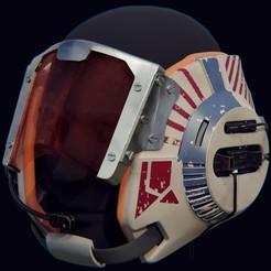 4.jpg Télécharger fichier STL Casque de l'aile B de Star Wars • Plan à imprimer en 3D, Necrosster