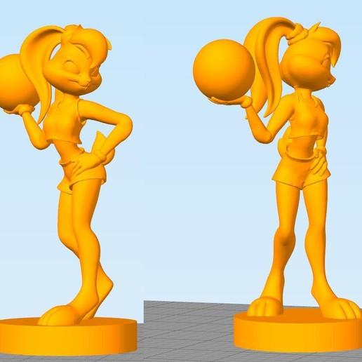 Télécharger plan imprimante 3D gatuit Lola Bunny par Fursat, Necrosster