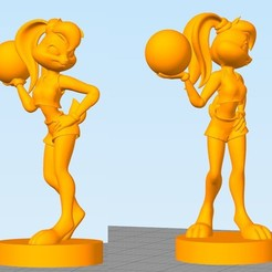 Download free 3D printing files Lola Bunny by Fursat, Necrosster
