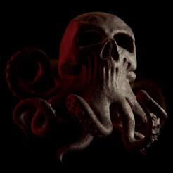 untitled3-2.jpg Download STL file Skull-octopus • Design to 3D print, Necrosster