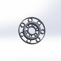 Flasque 2-1.JPG Télécharger fichier STL gratuit Support de bobine pour filament recyclé Filo 3D • Plan imprimable en 3D, cmoonen