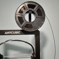 Descargar Modelos 3D para imprimir gratis Soporte Rollo Anycubic I3 MEGA, afloedl