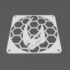 Télécharger fichier impression 3D gratuit 140mm Bourdon de boue Grille de ventilateur, j4nm4nn