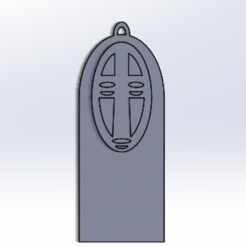 kaonashi.PNG Télécharger fichier STL porte-clés kaonashi • Modèle à imprimer en 3D, solucionintegralenconversion