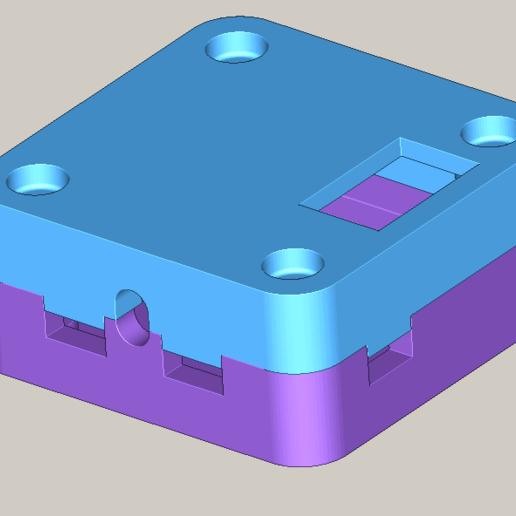 Download free 3D printing models OpenPilot Revo case v2, LaurentL