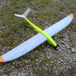 GOPR0378.resized.JPG Download free STL file Caracara - RC Glider / Motor glider • Template to 3D print, LaurentL