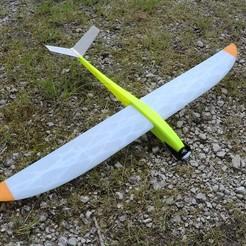 Descargar diseños 3D gratis Caracara - Planeador RC / Planeador a motor, LaurentL