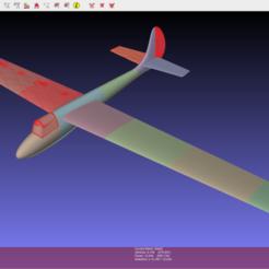 Imprimir en 3D gratis Planeador Air100 Rc, LaurentL