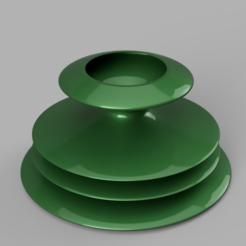 Vase_rendu1.PNG Télécharger fichier STL Vase Sapin de noel • Modèle pour imprimante 3D, williamcoos