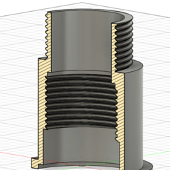 Tuyaux raccord.png Télécharger fichier STL Tuyaux de raccord (filetage 41.91 X 2.309)  pour bonde évier • Plan imprimable en 3D, williamcoos