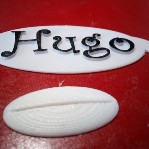 IMG_20200525_083540.jpg Download free STL file BUBBLE-SHAPED LABEL BD. FOR HUGO DECORATION • Model to 3D print, papounet1951