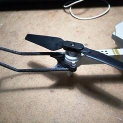 IMG_20210110_101148.jpg Télécharger fichier STL gratuit protège hélice mini drone • Modèle imprimable en 3D, papounet1951