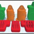 Varia Mount TinkerCAD.png Download free STL file Garmin Varia RTL510 Bike Mount Cargo Rack Go Pro v1.2 • 3D printing model, Phoenix125