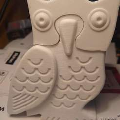 Download STL file Built-up owl with compartment • 3D printable object, jeremy20