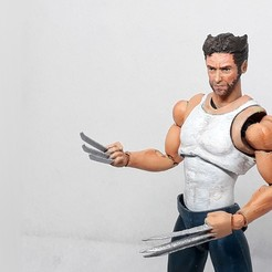 018.jpg Download STL file wolverine action figure • 3D printer template, Adel85