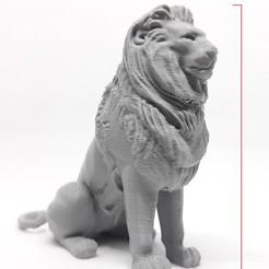 Descargar diseños 3D Estatua del León, Adel85