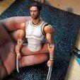 Download 3D printer designs wolverine action figure, Adel85